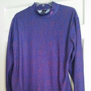 polartec Tops - Polartec Purple and pink Top Sz L